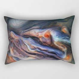 The Art of Nature - Jupiter Close Up Rectangular Pillow