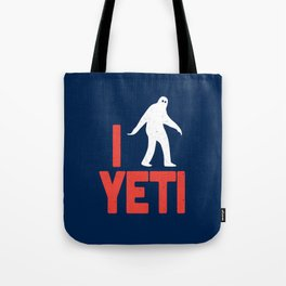 I heart Yeti Tote Bag
