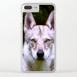 Czech Wolfdog Digit. Edition Clear iPhone Case