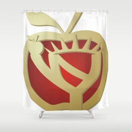 LOGO for THE BIG APPLE Shower Curtain