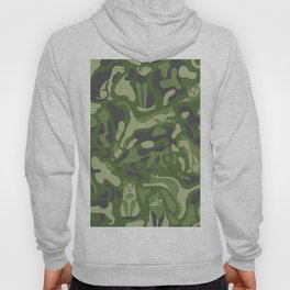 the PURRFECT camo with CATS Hoody