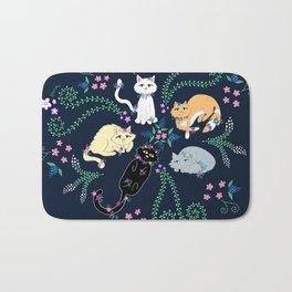 Garden Kitties Bath Mat