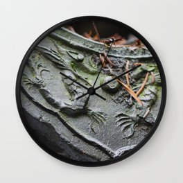 Chinese Dragon Tile Wall Clock