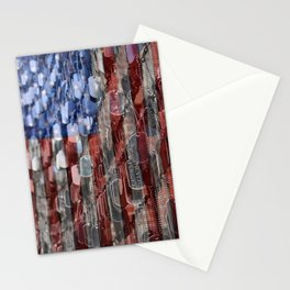 Never Forget American Sacrifice Stationery Cards