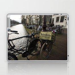Heineken Bike on the Amsterdam Canals Laptop & iPad Skin