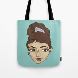 HOLLY GOLIGHTLY Tote Bag