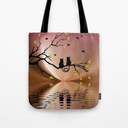 Springtime Love Tote Bag