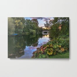 The Thames At Pangbourne Metal Print