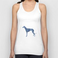 greyhound Tank Tops featuring Greyhound by Carma Zoe