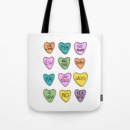 Anti Hearts Tote Bag