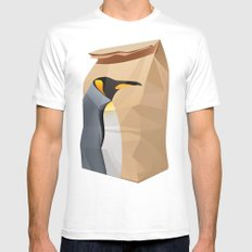 King Penguin MEDIUM Mens Fitted Tee White