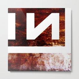 NIN Metal Print