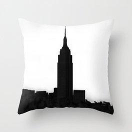 An Empire State Throw Pillow