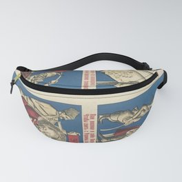1918, Since Sir lost his land, his pockets have become empty... Fanny Pack