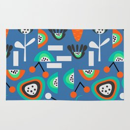 Funky fresh party Rug