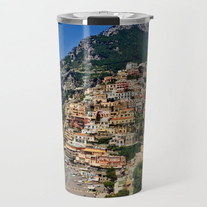 Positano's coast Travel Mug