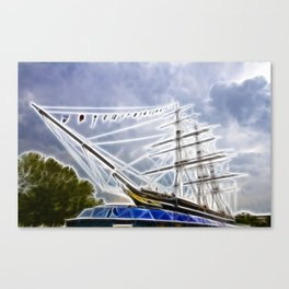 The Cutty Sark Greenwich Canvas Print