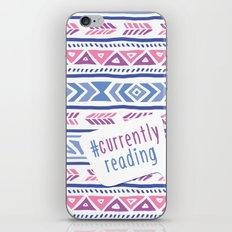 #CurrentlyReading Triabal print iPhone & iPod Skin