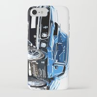muscle iPhone & iPod Cases featuring american muscle  by Vector Art