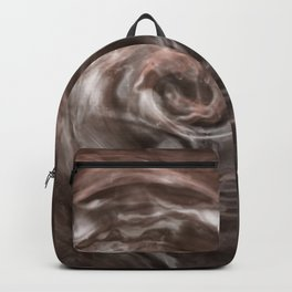 Coffee and cream swirl Backpack