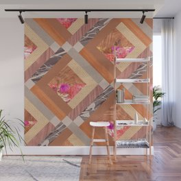 Cubed Wall Mural