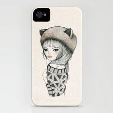 Fox Girl iPhone (4, 4s) Slim Case