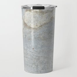 Blueish, rusty and old steel texture Travel Mug