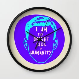 The Bright Side Of Humanity Wall Clock