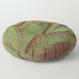 Dancer green Floor Pillow