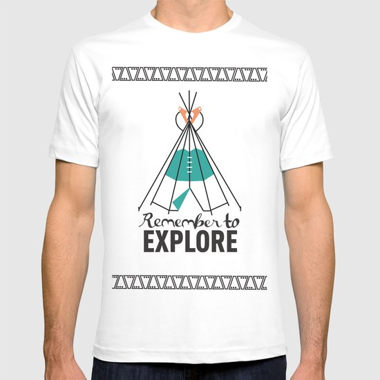 Please Remember to Explore Dear T-shirt