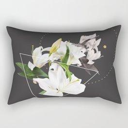 Tropical Flowers & Geometry II Rectangular Pillow