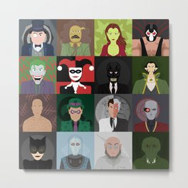 The Villains Metal Print