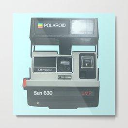 POLAROIDS SUN 630 LMP CAMERA Metal Print