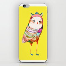 Pretty Owl. Kids decor - nursery decor - owl art iPhone & iPod Skin
