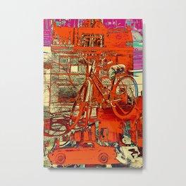 Toronto bicycle dreams Metal Print