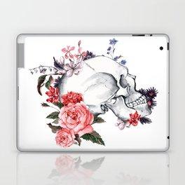 Roses Skull - Death's head Laptop & iPad Skin