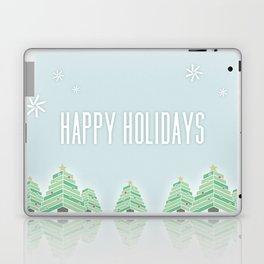 Happy Holiday Trees Laptop & iPad Skin