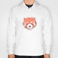 red panda Hoodies featuring Red Panda by Zach Terrell