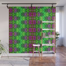ZigZag Green Geodes Wall Mural