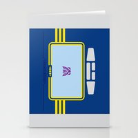 transformers Stationery Cards featuring Soundwave Transformers Minimalist by Jamesy