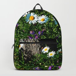Wildflowers by the River Backpack