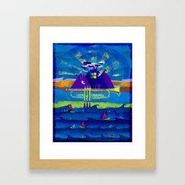 Kind of Blue Framed Art Print