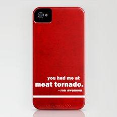 Parks + Rec - Ron Swanson iPhone (4, 4s) Slim Case