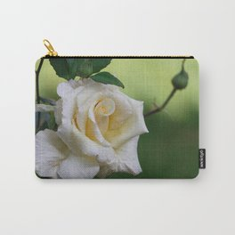 Beautiful Cretan Rose Carry-All Pouch