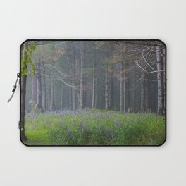 Lupines At The Forest's Edge Laptop Sleeve