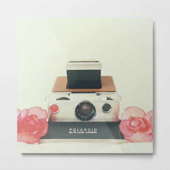 Polaroid Memories Metal Print