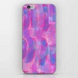 bubblegum abstract iPhone Skin