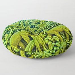 Elephant Kingdom Floor Pillow