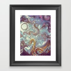 Flowing Spirit Framed Art Print