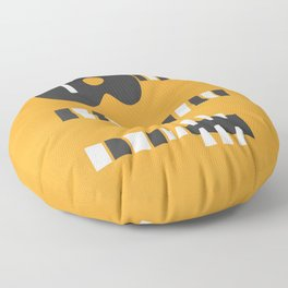 Retro Guitar Floor Pillow